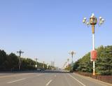 潍坊寿光金海路路灯实景